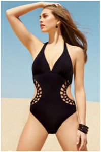 Women′s Sexy Swimwear Fashion Crochet Swimming Suit One-Piece Beashwear