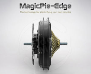 2016 Magicpie Edge Bicycle Conversion Motor Kit Support 7-10 Speed Cassette, with Built in, Programmable Sine Wave Controller pictures & photos