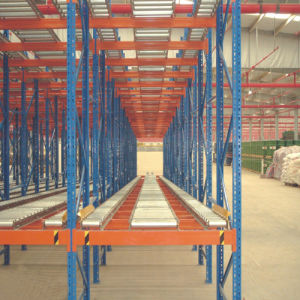 High Quality Warehouse Gravity Pallet Metal Racking pictures & photos