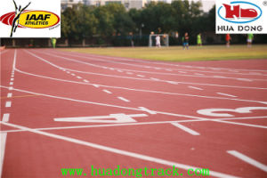 Good Quality Prefabricated Rubber Running Track Rubber Floors pictures & photos