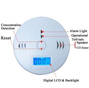4.5V LCD Carbon Monoxie Detector Supplier (UHCO605) pictures & photos