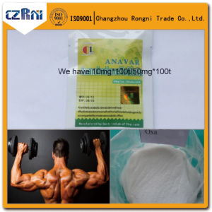 Muscle Growth Anabolic Steroid Powder Anavar/Protivar CAS No 53-39-4 pictures & photos