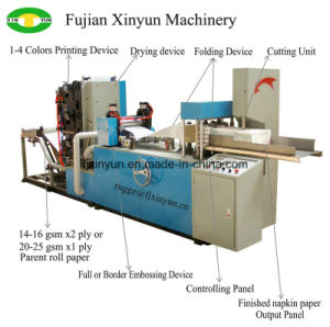 Automatic Printed Napkin Tissue Paper Folding Machine Price pictures & photos