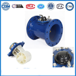 Epoxy Coated Cast Iron Material Turbine Wm Water Flow Meter pictures & photos