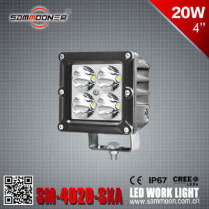 4 Inch 20W LED Car Driving Work Light for Tractor Beach Light Machinery Lamps (Sm-4020-Sxa)