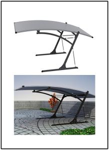 Aluminum Alloy Car Shelter with CE Certificate pictures & photos