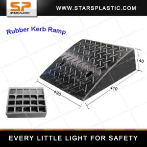 Kr-A75-07 Street Black Durable Rubber Ramp pictures & photos