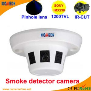 Imx238 CMOS 1200tvl Smoke Detector Dusguised Hidden Miniature Pinhole Camera pictures & photos