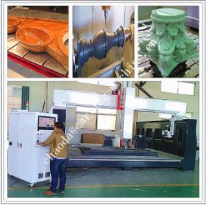 3D CNC Carving Machine Granite / 5 Axis CNC Stone Milling and Cutting Machine pictures & photos