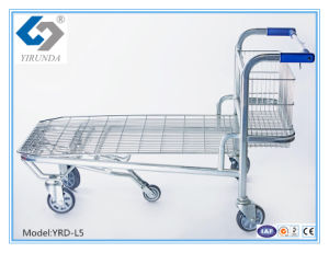 Multifunction Hand Trolley for Heavy-Duty Warehouse with 5 Wheels pictures & photos