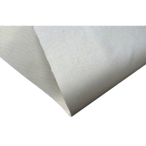 Fireproof PU Fiberglass Fabric pictures & photos