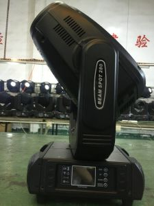 Guangzhou Touch Display 280W 3in1 Spot Wash Beam Moving Head Light pictures & photos