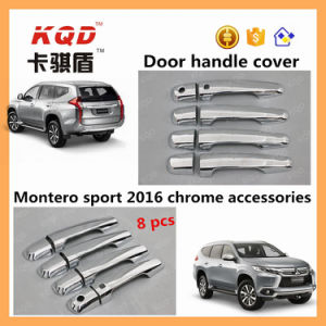 New Exterior Accessories Door Handle Cover for Mitsubishi Pajero Sport Handle Door Chrome Cover Pajero Sport 2016 Accessories
