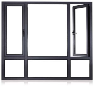 China Supplier Low Energy Cost Insulated Double Glass Aluminium Doors and Windows pictures & photos