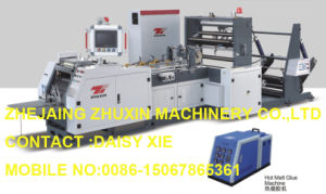Automatic High Speed Point Tooth Food Paper Bag Making Machine pictures & photos