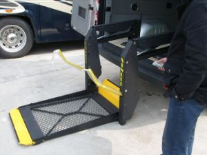 Mobility Wheelchair Lift for Vehicles Vans pictures & photos