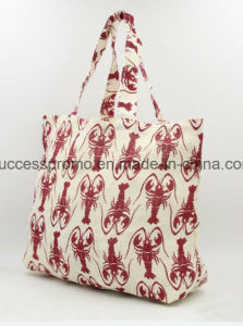 Reusable Shopping Cotton Tote Bag for Lady pictures & photos