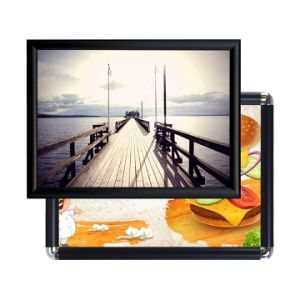 Aluminum Click Frame Sign Holder Picture Frame pictures & photos