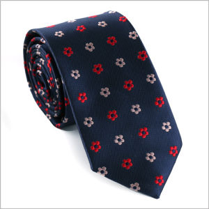 New Design Fashionable Polyester Woven Necktie (826-13) pictures & photos