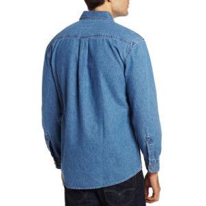Men Cotton Fashion Casual Jeans Jacket & Dress Jeans Shirts pictures & photos