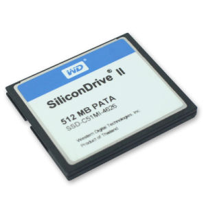 Silicondrive 512MB Compactflash PATA Industrial CF Memory Card pictures & photos