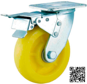 Heavy Duty Nylon Caster (brake) pictures & photos