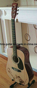 41′′ Acoustic Guitar with Carved Top pictures & photos