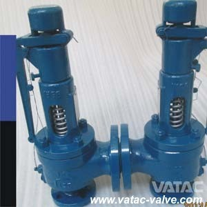 Cast Steel Spring Loaded Full Bore Type Safety Relief Valve pictures & photos