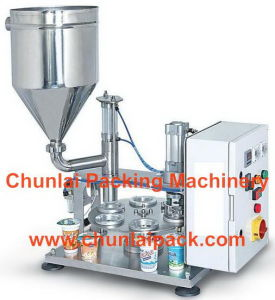 Cup Coffee Capsule Filling and Sealing Packing Machine pictures & photos