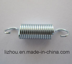 Extension Spring with Zinc Plating Surface Treatment