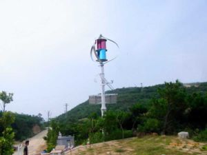 1kw Vertical Axis Wind Generator Turbine (200W-5KW) pictures & photos