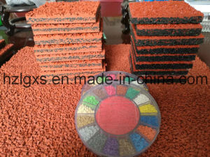 Breathable Type for EPDM Rubber Running Track pictures & photos
