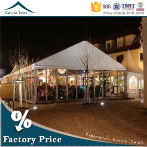 12m*15m Durable Structure Clear Glass Wall Party Tents with High Quality pictures & photos