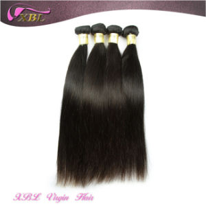 7A Grade 100% Indian Straight Human Hair Virgin Remy Hair Weft pictures & photos