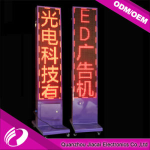 Two Side Floor Stand LED Advertising Display of P10 Single Color pictures & photos