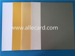 Silver PVC Card Material/ Sheet Clear Printing Sheet Material pictures & photos