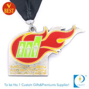 China OEM Custom Enamel Running Marathon Medal pictures & photos