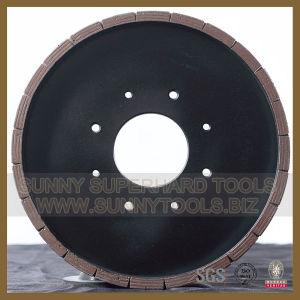 High Polishing Effect Bevel Edge Diamond Squaring Grinding Wheel pictures & photos