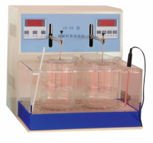 Professional Pharmaceutical Produce Directly Lb-2D Tablet Disintegration Tester pictures & photos