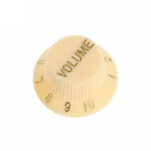 Vintage Cream Guitar Knobs for Strat Style Guitars pictures & photos
