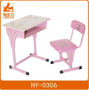 Adjustable Kids Table and Chair Set of Kindergarten Furniture pictures & photos
