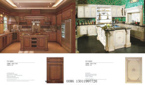 Modular PVC Shaker Kitchen Cabinets with 3D (zh) pictures & photos