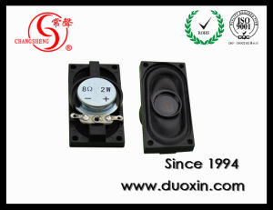 20*40mm 1W 8ohm Fo-10kHz Rectangular Cloth Speaker Dxp2040-1-8W pictures & photos