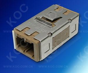 Mu/PC Duplex Fiber Optic Adaptor pictures & photos