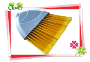 Home Dust Cleaning Floor Plastic Angle Broom pictures & photos