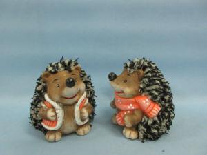 Hedgehog Shape Ceramic Crafts (LOE2531-C9) pictures & photos