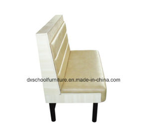 Factory Price Beige Color Single Booth Sofa pictures & photos