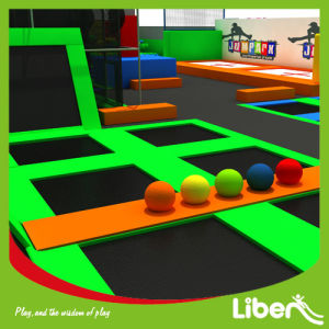 Top Quality Indoor Combined Trampoline Park with Dodgeball Court pictures & photos