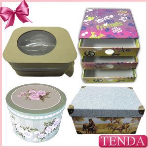 Printed Cosmetic Perfume Folding Rigid Cardboard Paper Packaging Gift Box