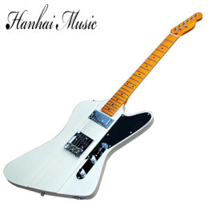 Hanhai Music / Unusual Shape Electric Guitar with Maple Neck pictures & photos